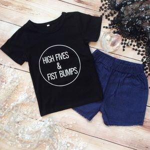 Other - Unisex HIGH FIVES & FIST BUMPS 2pc Outfit